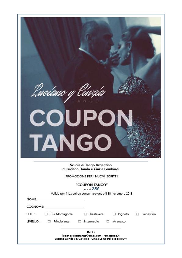 COUPON TANGO 2018-19
