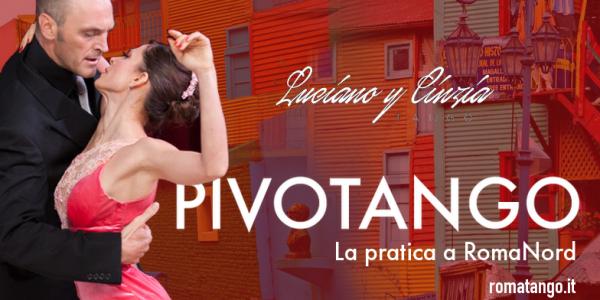 Lezione e Pratica con Luciano Donda y Cinzia Lombardi al Pivot