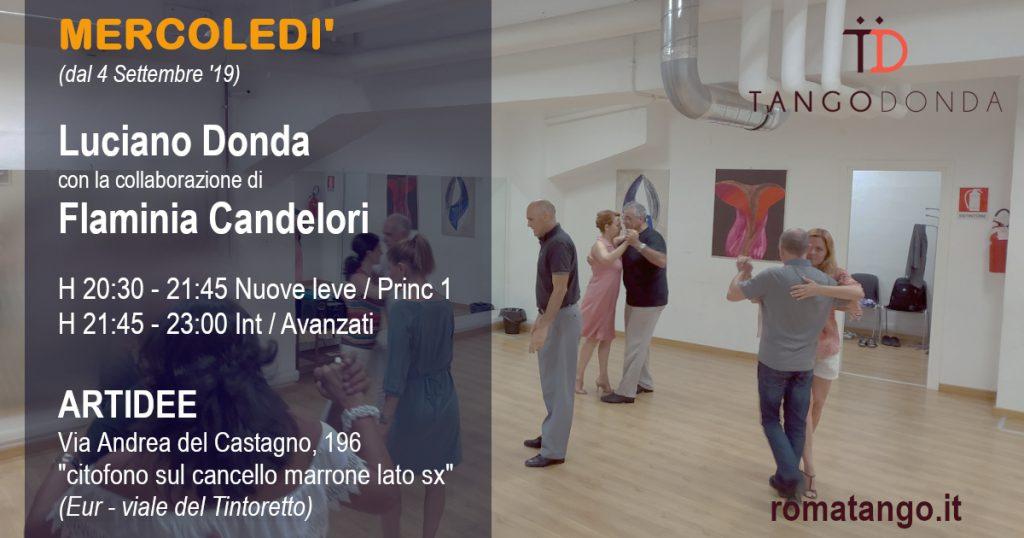Lezioni di Tango a Roma il mercoledì