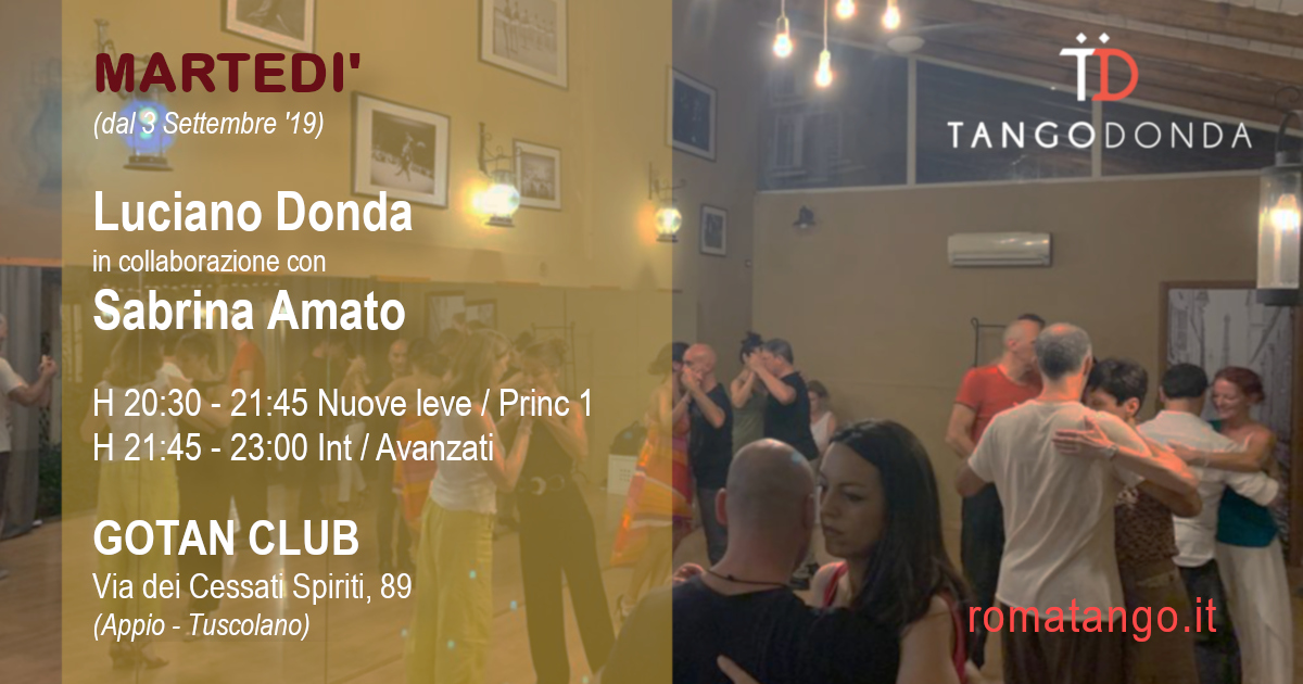 Corsi di Tango a Roma il martedì