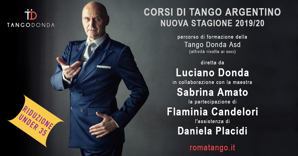 Corsi di tango Argentino Stagione 2019/20