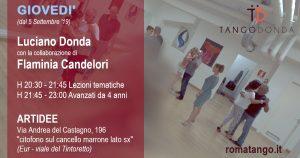 Corsi di Tango il giovedì a Roma