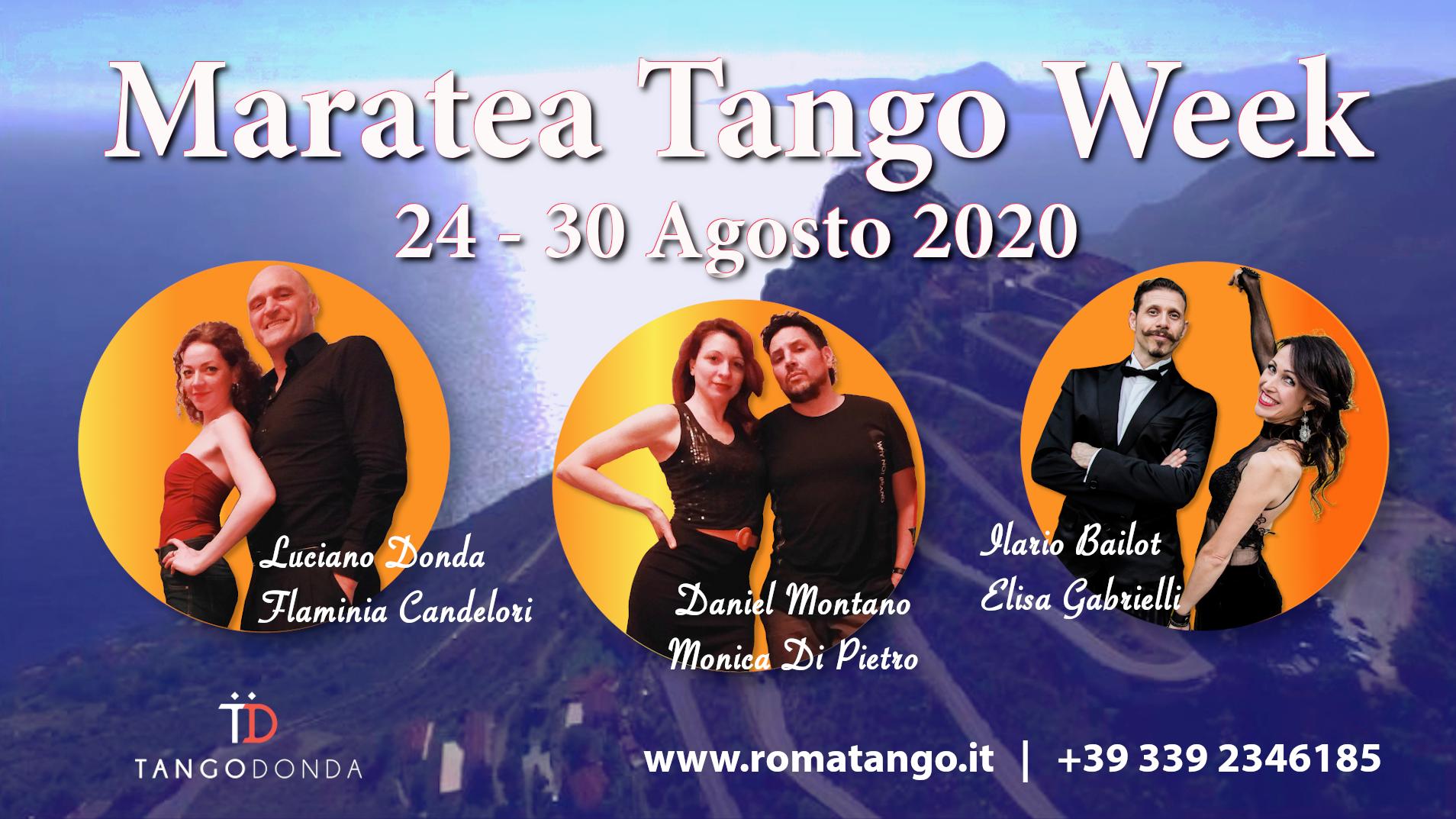 Maratea Tango Week 2020 la tua tango vacanza dal 24 al 30 Agosto